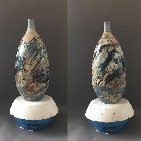 Céramique de Grès  Dia 20 X H45cm