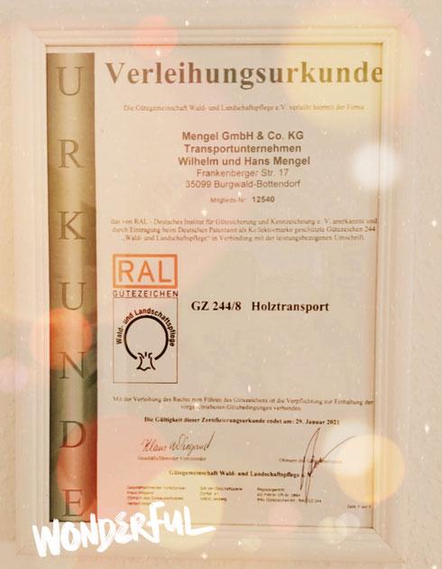 Zertifizierung 2020 - Check