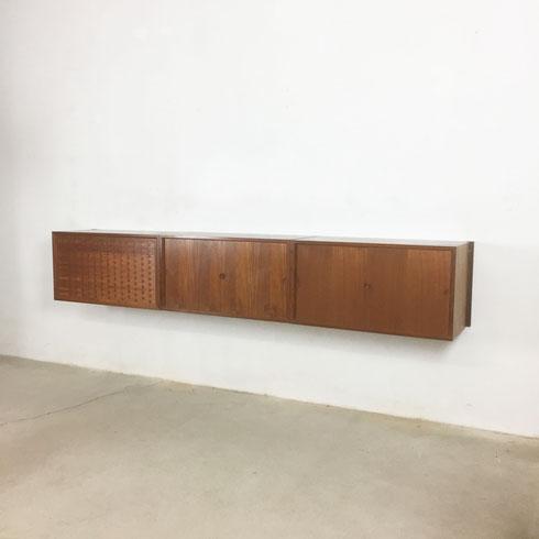 CADO ROYAL Wall Unit   teak Poul Cadovius for Cado, Denmark - 1960s