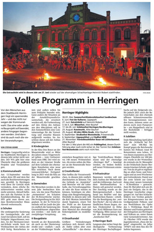 WA 06.01.2020 - Volles Programm in Herringen
