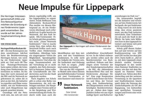 WA 26.11.19  - Neue Impulse für Lippepark
