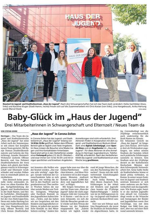 WA 2020.09.23 - Baby Glück im Haus der Jugend