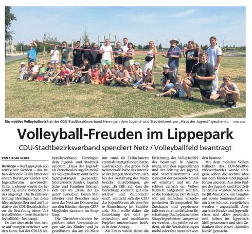 WA 29.07.19 - Volleyball-Freuden im Lippepark
