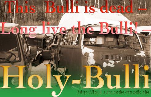 Cowdfunding Spenden Holy-Bulli Tour Bus ulf hartmann