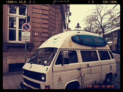 Holy-Buli, Tour Bus, Spende, Sponsoring, Hilfe