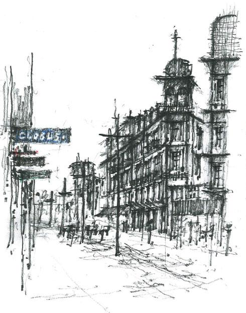 Zeichnungswoche 2014 in Biel