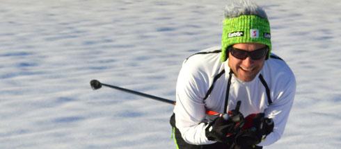 Mütze Gisbert - keine typische Langlaufmütze aber wie jede original Eisbärmütze für jeden Spaß zu haben!