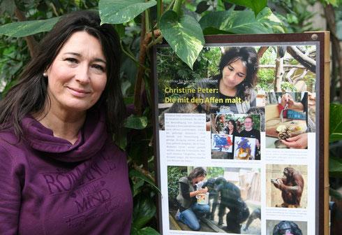 Fachfrau für Tierbeschäftigung Christine Peter