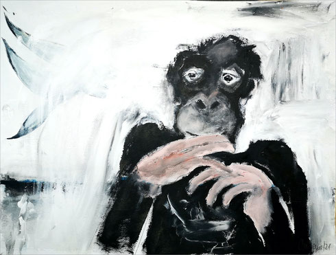 Christiane Holsten: Affenkunst XIII