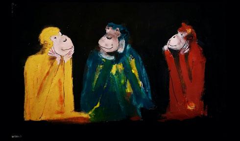 Christiane Holsten: Affenkunst XV-A