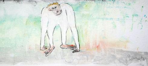 Christiane Holsten: Affenkunst VI