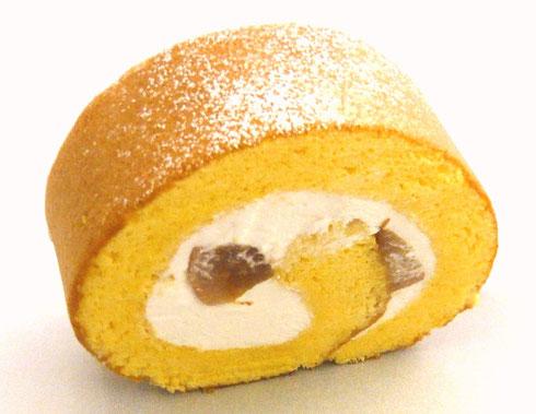 夏桃ロール 桃 白桃 桃のロールケーキ