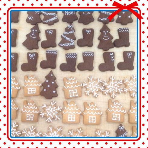 クリスマスクッキー アイシング かわいいクッキー