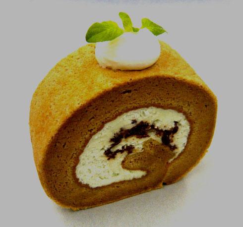 チョコミント チョコミントロール ミント チョコ 夏 ロールケーキ