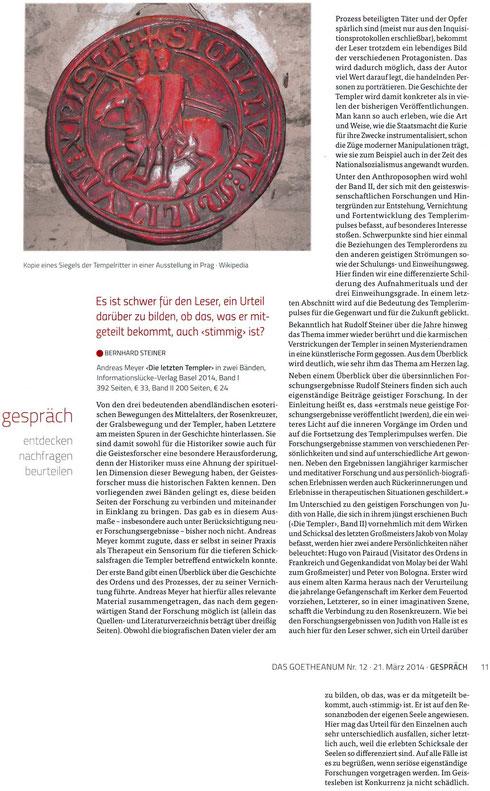Artikel Goetheanum