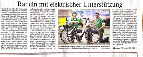 Rheinische Post eBike Artikel