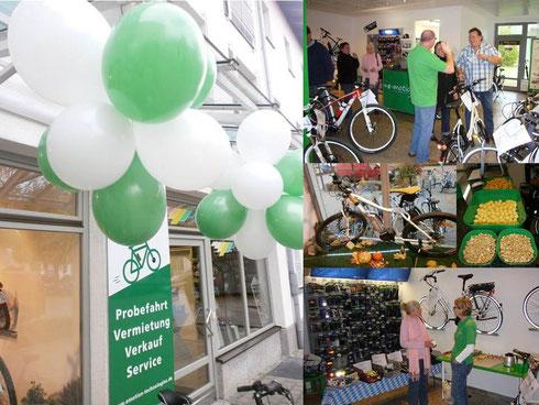 eBike Shop München Eröffnungsfeier
