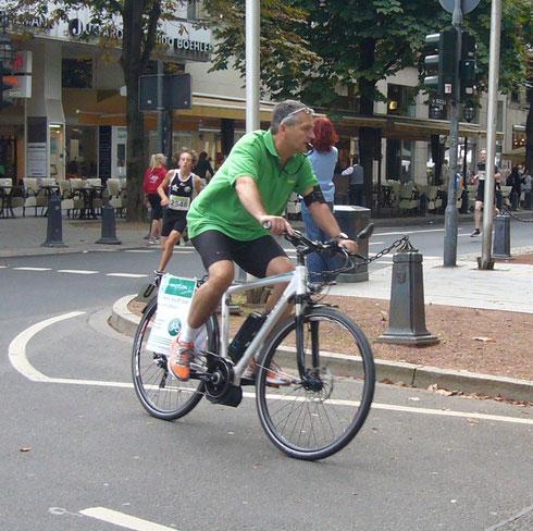 Kö-Lauf Düsseldorf ebike