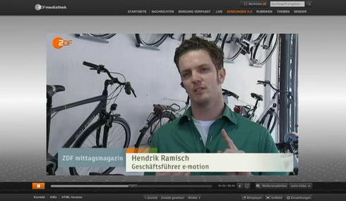 e-motion Technologies Fernsehen ZDF