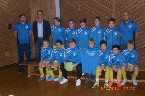 Der TSV Kirchaich bedankt sich bei der Bäckerei Söder Priesendorf