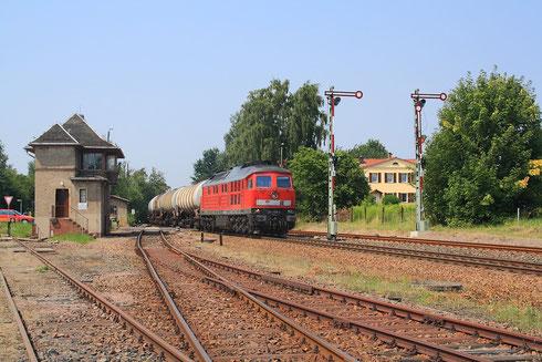 241 008 mit Kesselzug in Deutschenbora
