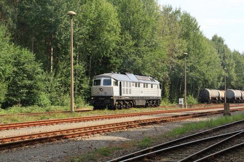 W 233.09 nach der Ankunft in Cunnersdorf