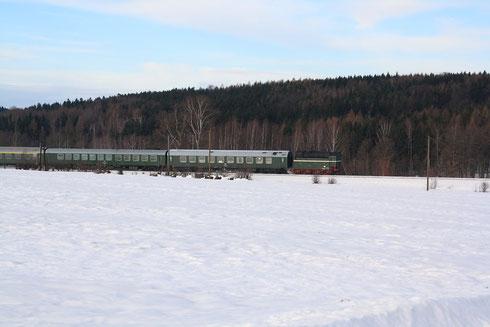 Ersatztender der 18 201; in welche Richtung fährt der Zug?