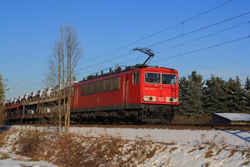 155 019 mit GA 47431 in Glauchau Schönbörnchen