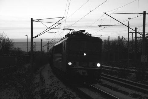 155 073 mit Umleitergz 51687 in Glauchau
