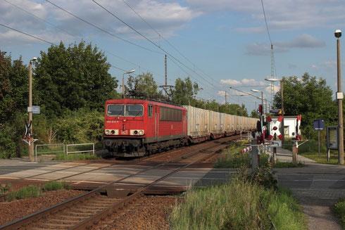 155 037 mit GA 47306 in Dresden Stetzsch
