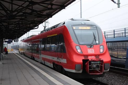 442 615 als S30 unterwegs zw Freiberg und Dresden