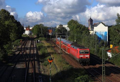 143 126 mit RB 30 nach Dresden in Chemnitz