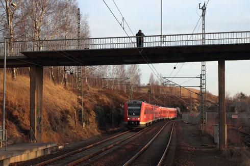 612 111+605 als RE 3 in Muldenhütten