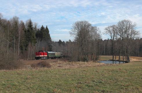 112 565 mit dem Sonderzug des LDC von Cottbus nach Holzhau