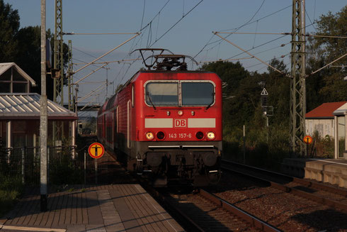 143 157 mit RB 17205 in Klingenberg-Colmnitz