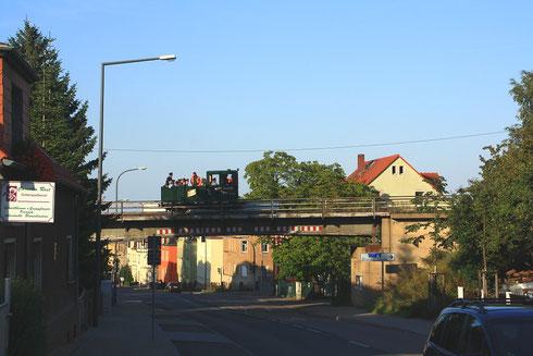Wex auf der Windbergbahn, hier in Gittersee
