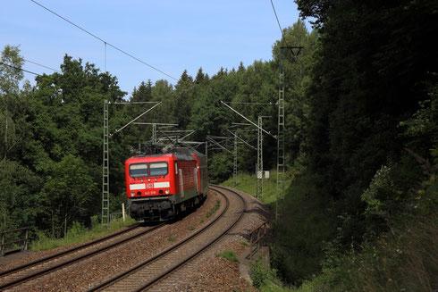 143 919 mit RE 3 bei Dorfhain