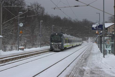 Agilis 440 608/108 auf Probefahrt nach Hof in Klingenberg