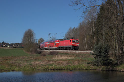 143 359 mit RB 30 in Klingenberg