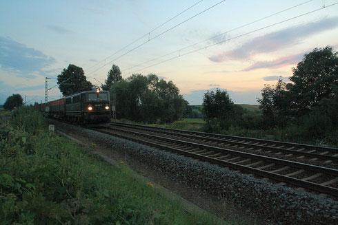 142 001 mit Koksleerzug bei Colmnitz