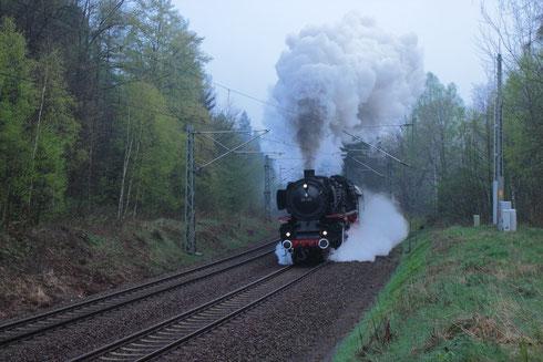 01 1066 mit Sdz nach Stuttgart bei Klingenberg