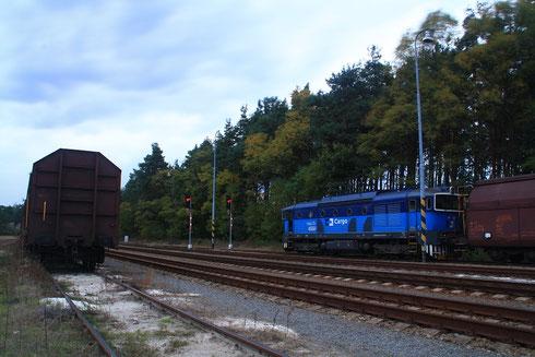 750 777 mit Gz in Habichtstein bei Böhm Leipa