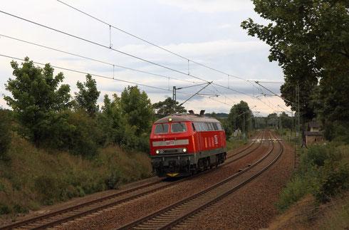 218 390 der MEG Lz bei Colmnitz