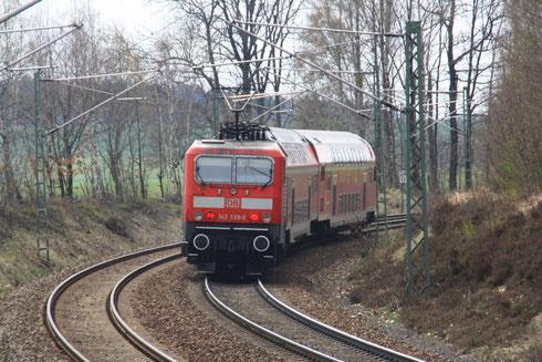 143 339 mit RB nach Zwickau