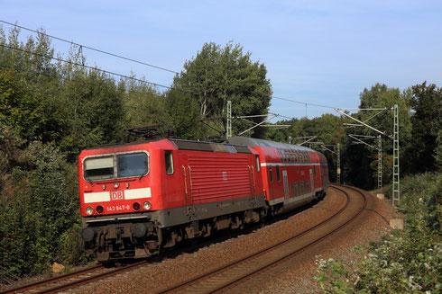 143 947 mit RE 3 nach Dresden