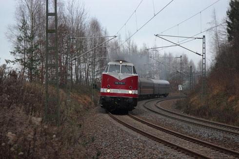 118 770 und 35 1097 mit Sdz von Glauchau nach Meißen