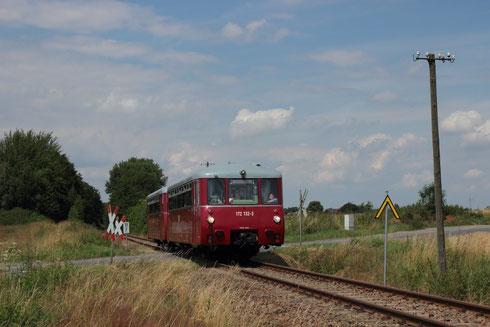 Charter Sdz auf der Zellwaldbahn mit 172 132 und 172 171