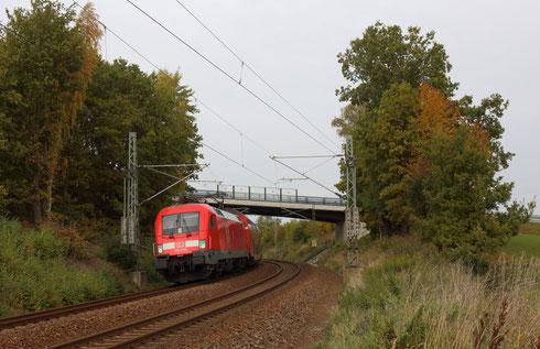 182 018 mit RB 30 in Niederbobritzsch