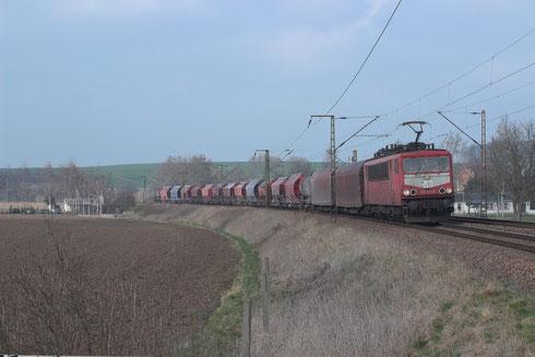 155 214 mit Frankenwaldumleiter EZ 51649 bei Zehma