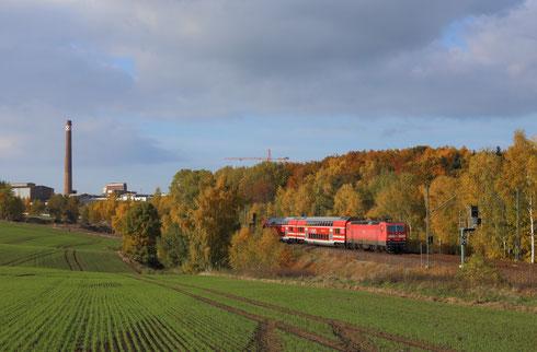 143 116 mit S30 hinter Freiberg